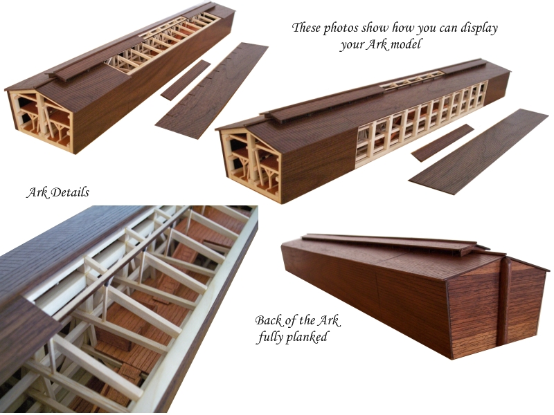 Different ways to display your Ark Model